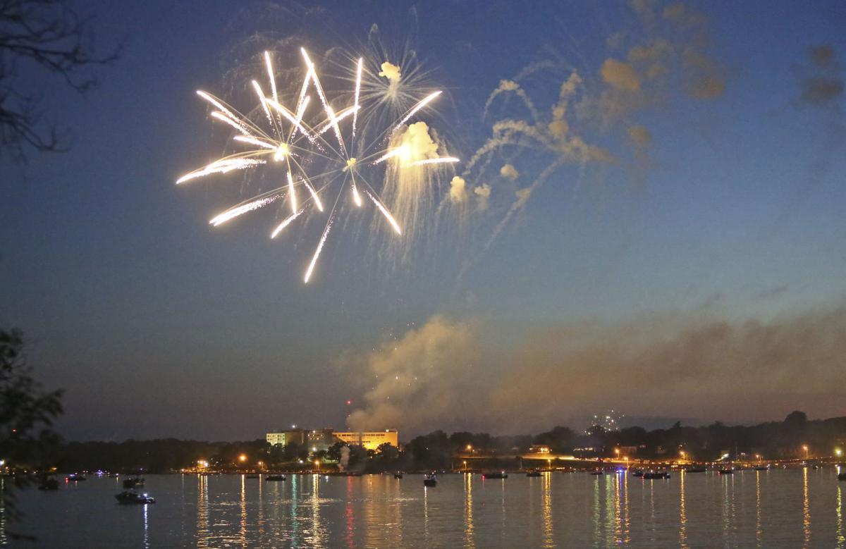 Lake Decatur fireworks