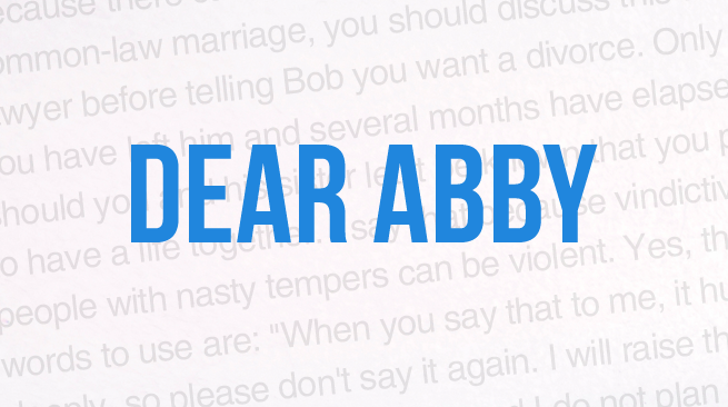 Dear Abby: Girlfriend still in closet is taking her time to