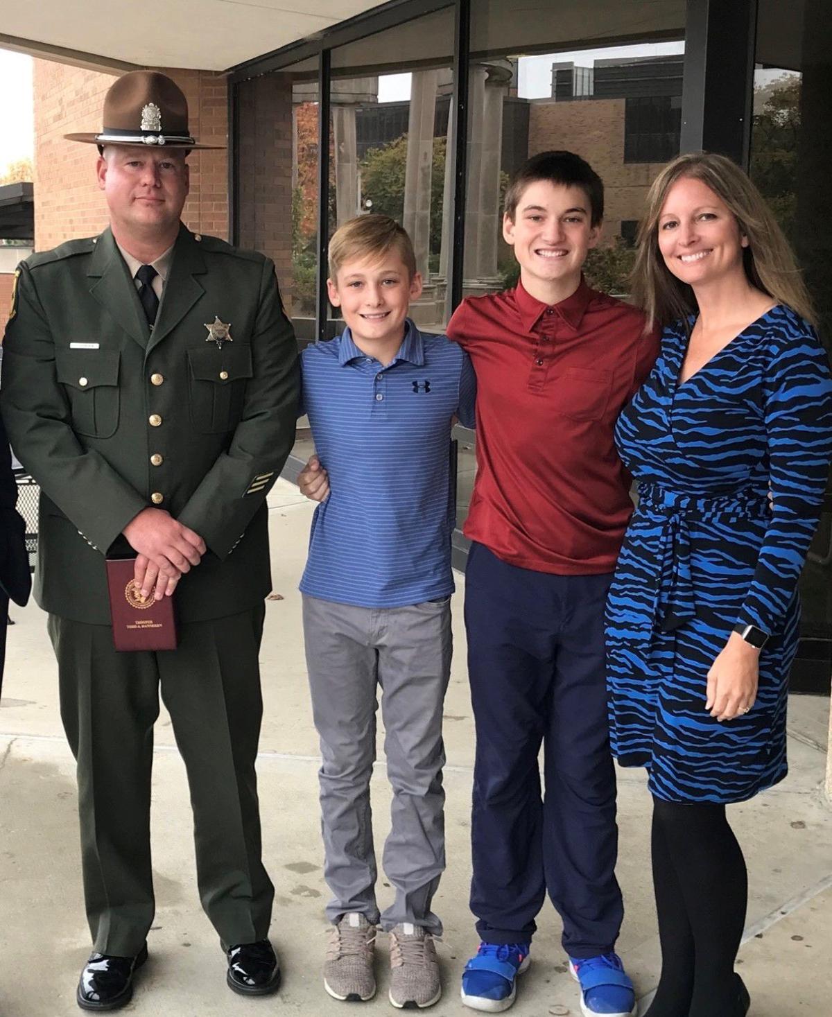 Todd Hanneken family