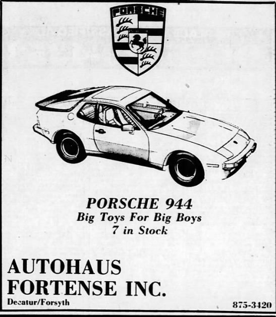 Take A Drive Through Time Decatur Auto Dealership Ads From