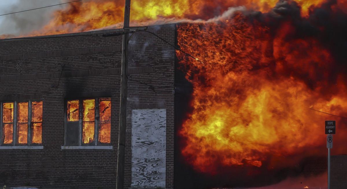 Warehouse fire17 050121.JPG