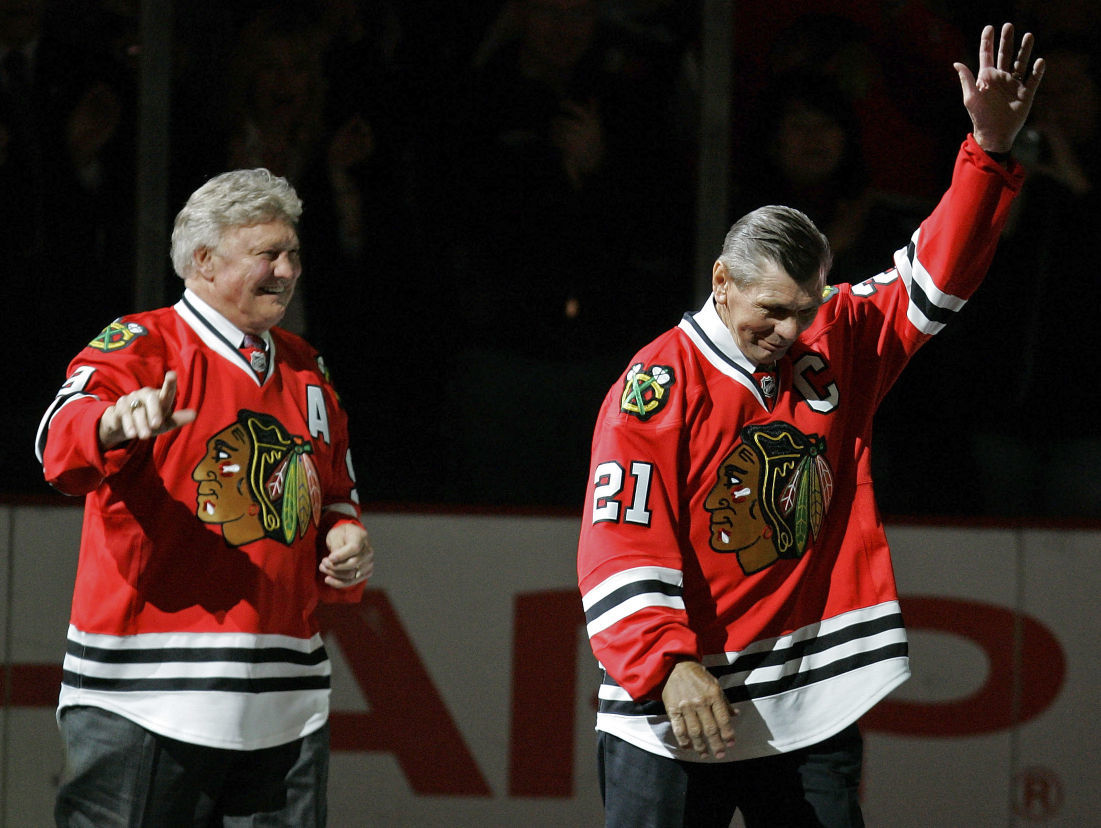 973dc4187 Stan Mikita and Bobby Hull formed special bond with Blackhawks ...