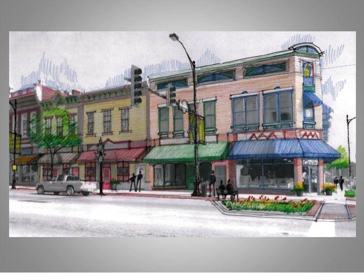 Shelbyville Streetscape