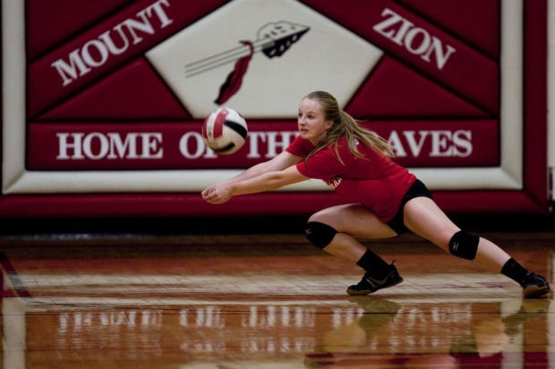 Mount Zion volleyball for jump