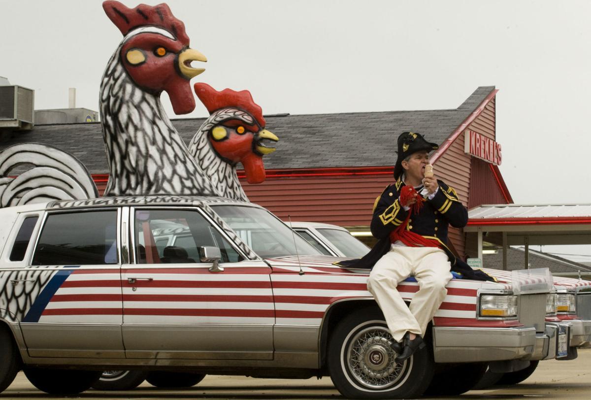 Krekel's chicken car