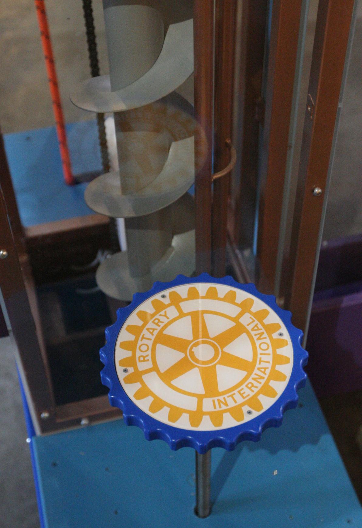 Drink Clean Water rotary wheel 9.25.17