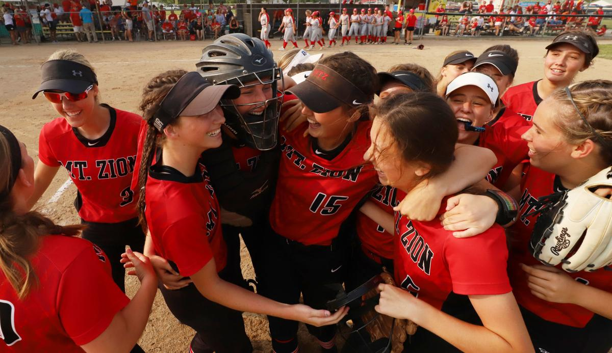 Follow Live Sycamore Walks Off Against Mount Zion In Softball State Semifinals High School Softball Herald Review Com