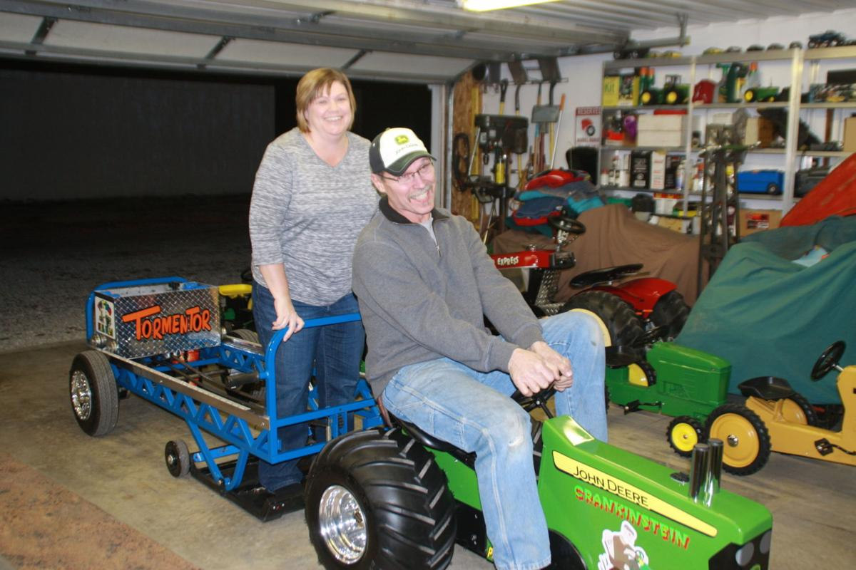 Couple's pedal tractors pull in competitors | Local | herald