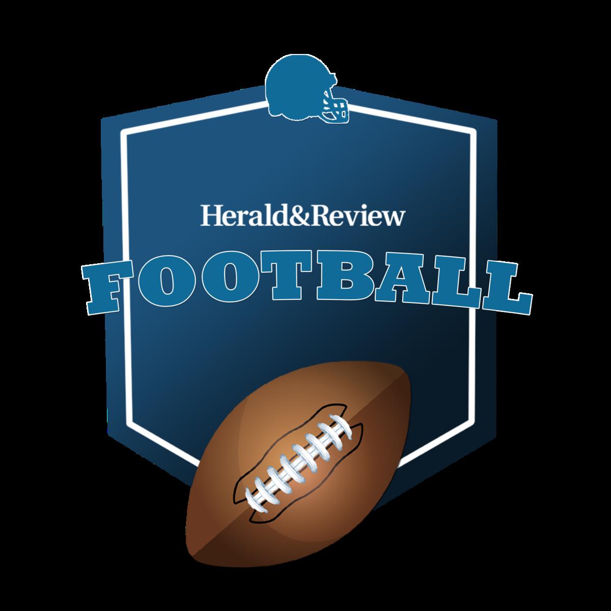 H&R football logo