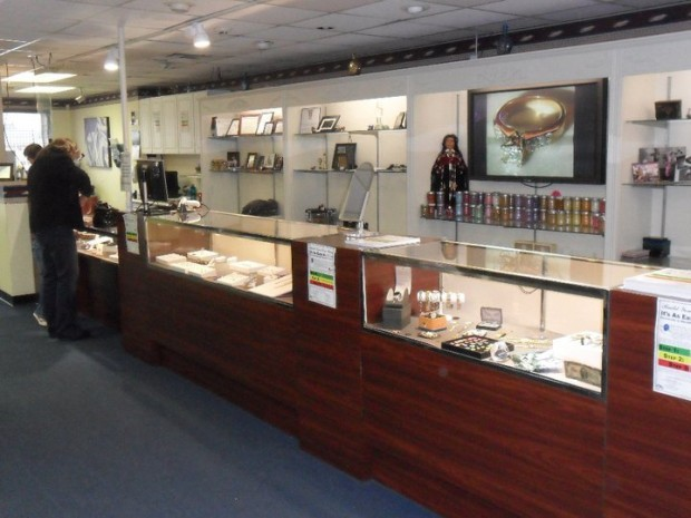 Counter at Decatur Jewelry & Pawn