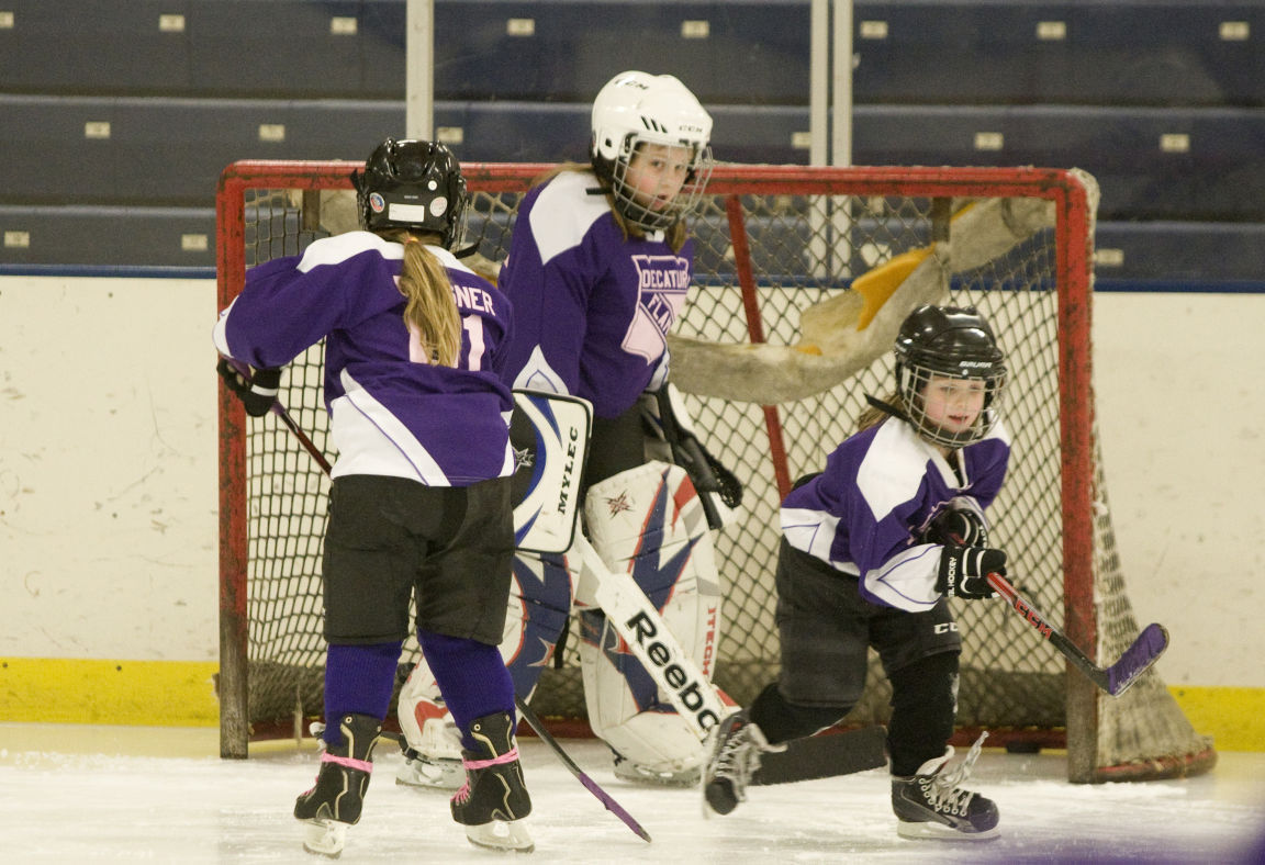 Experimental Hockey Program Has Young Girls Taking To The Ice