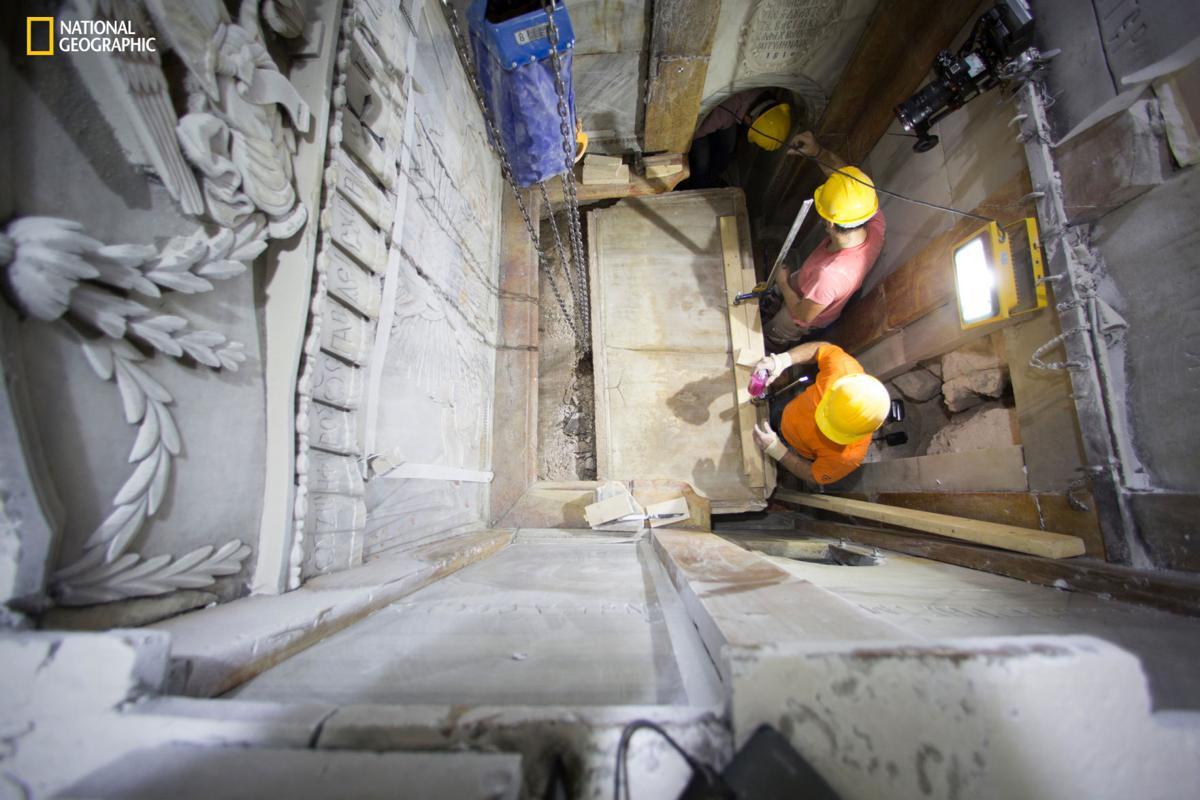 Mideast Jerusalem Jesus Tomb