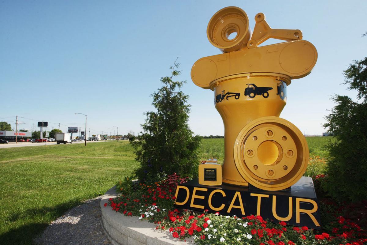 Decatur Caterpillar Sculpture 7.27.18