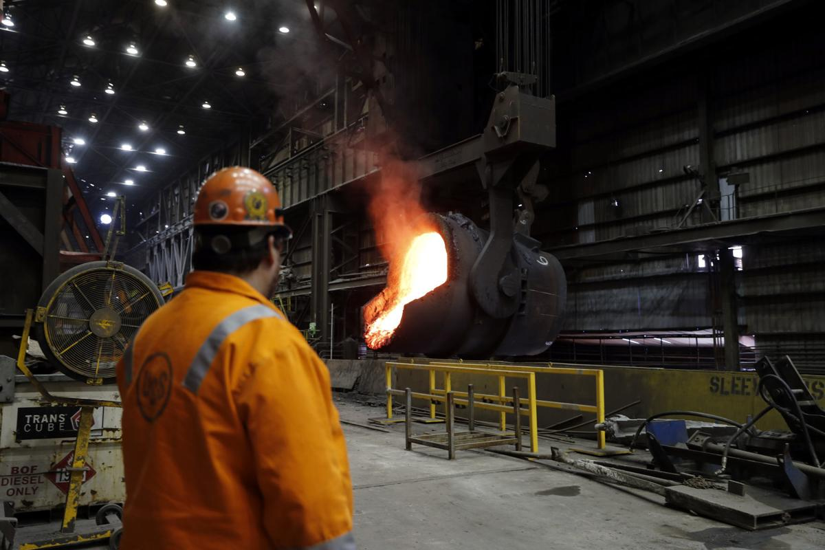 Trump Trade Steel Town