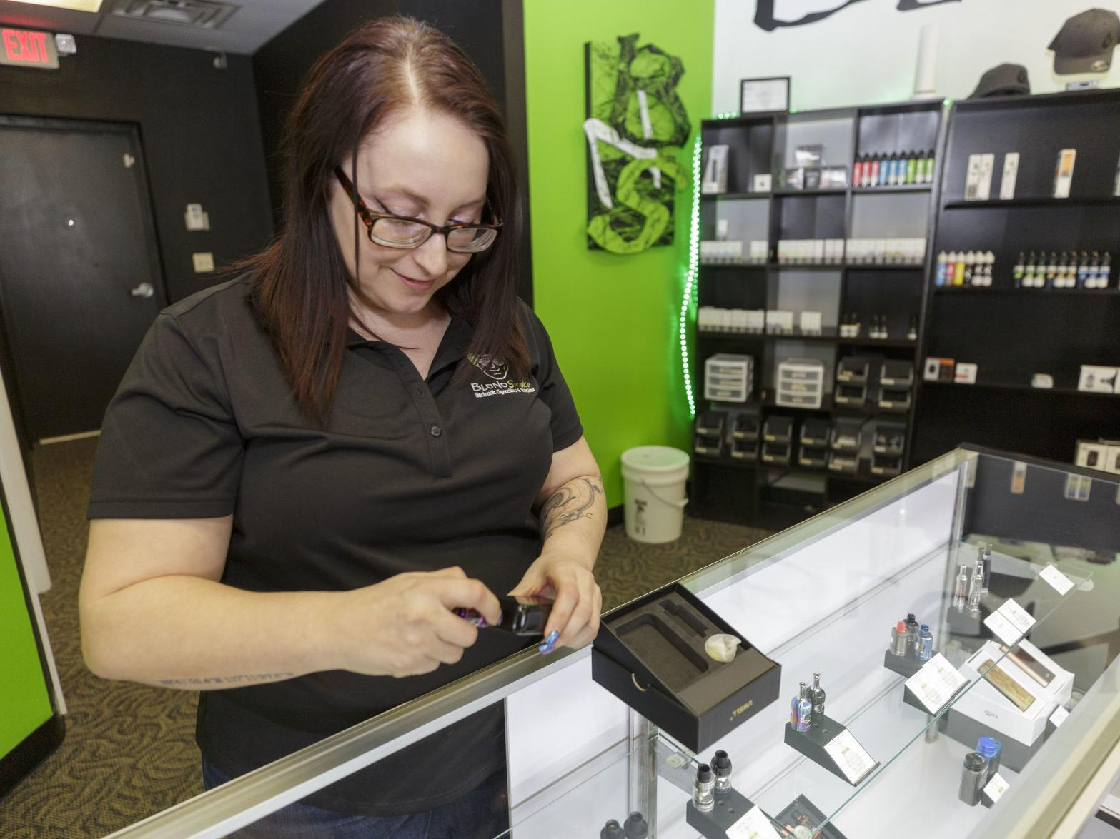 Central Illinois vape shops prepare for federal ban on some flavored vaping  products   Public Safety   herald-review.com