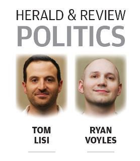 Herald & Review politics logo