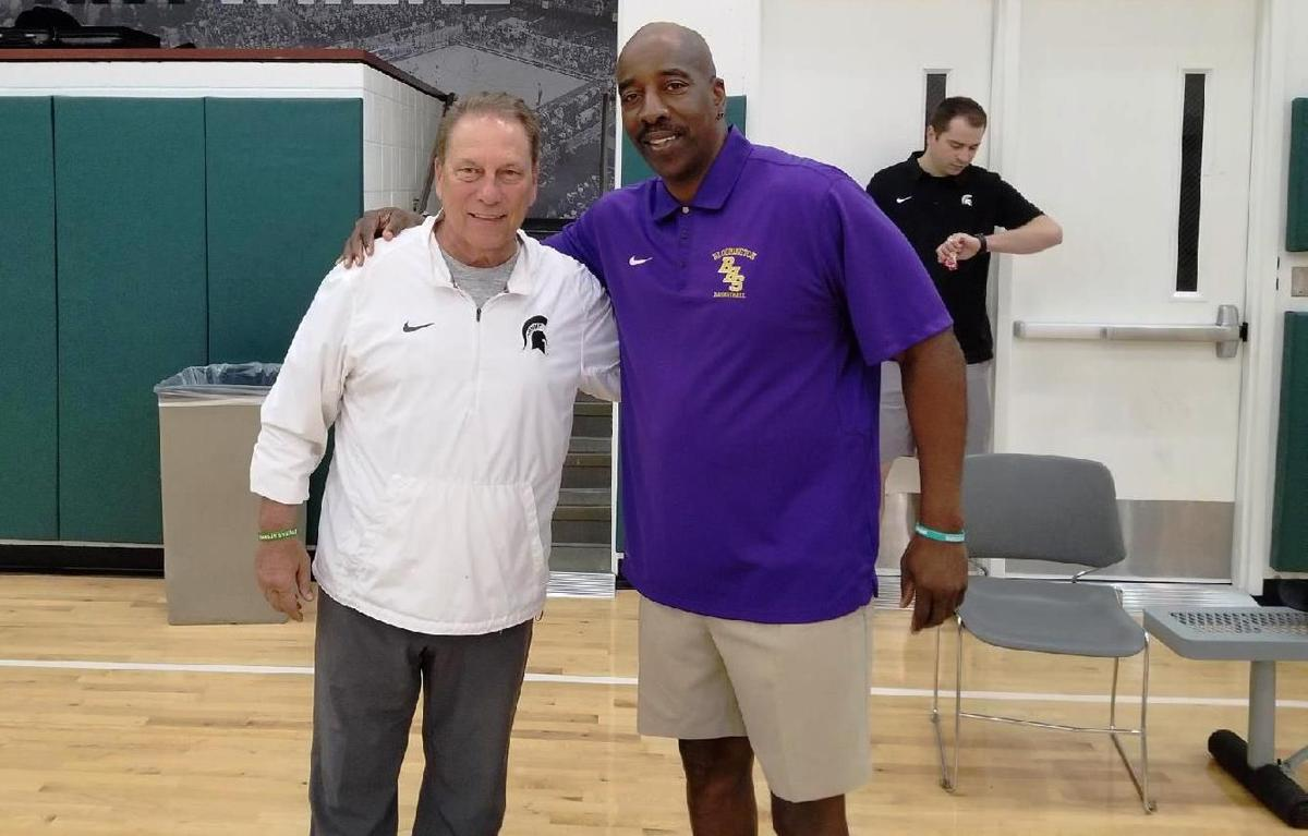 Greg Patton with Tom Izzo