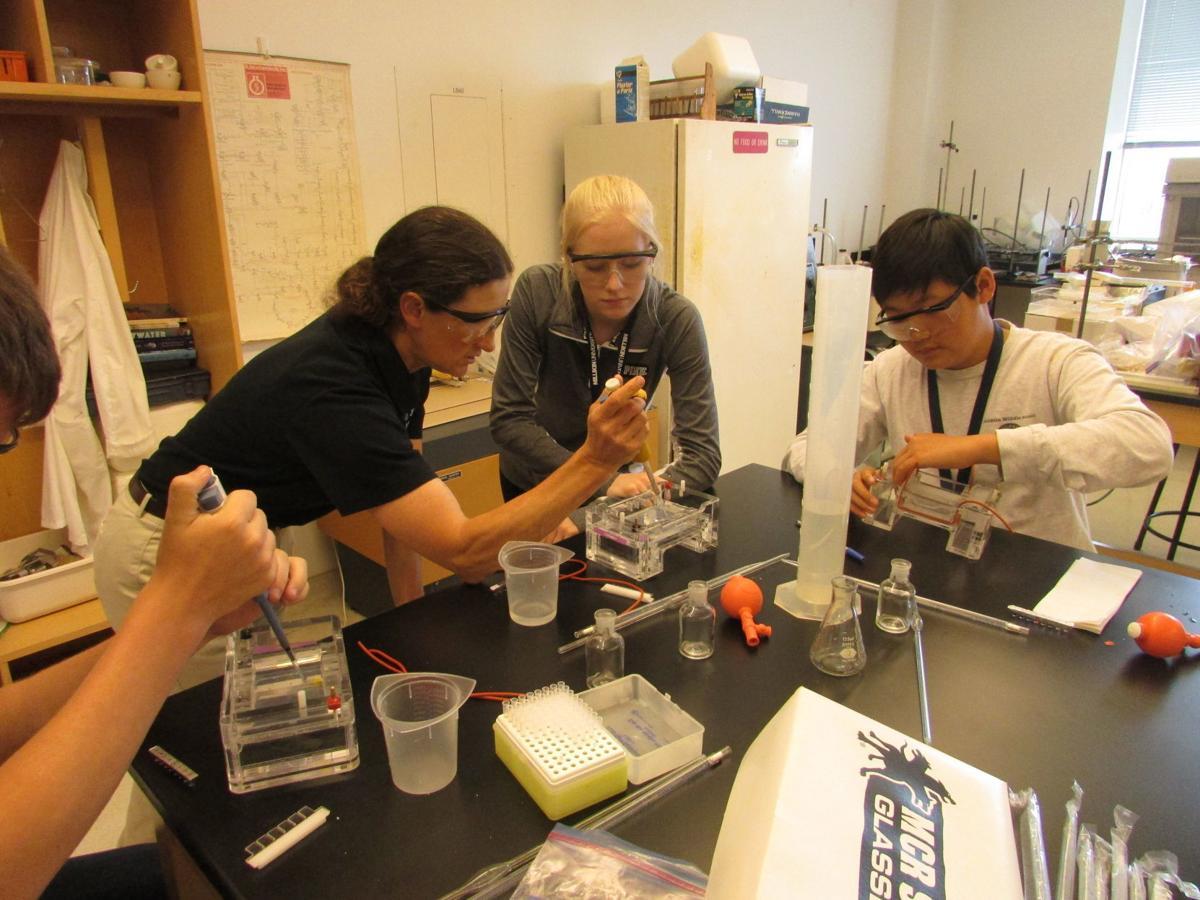 Millikin University chemistry camp