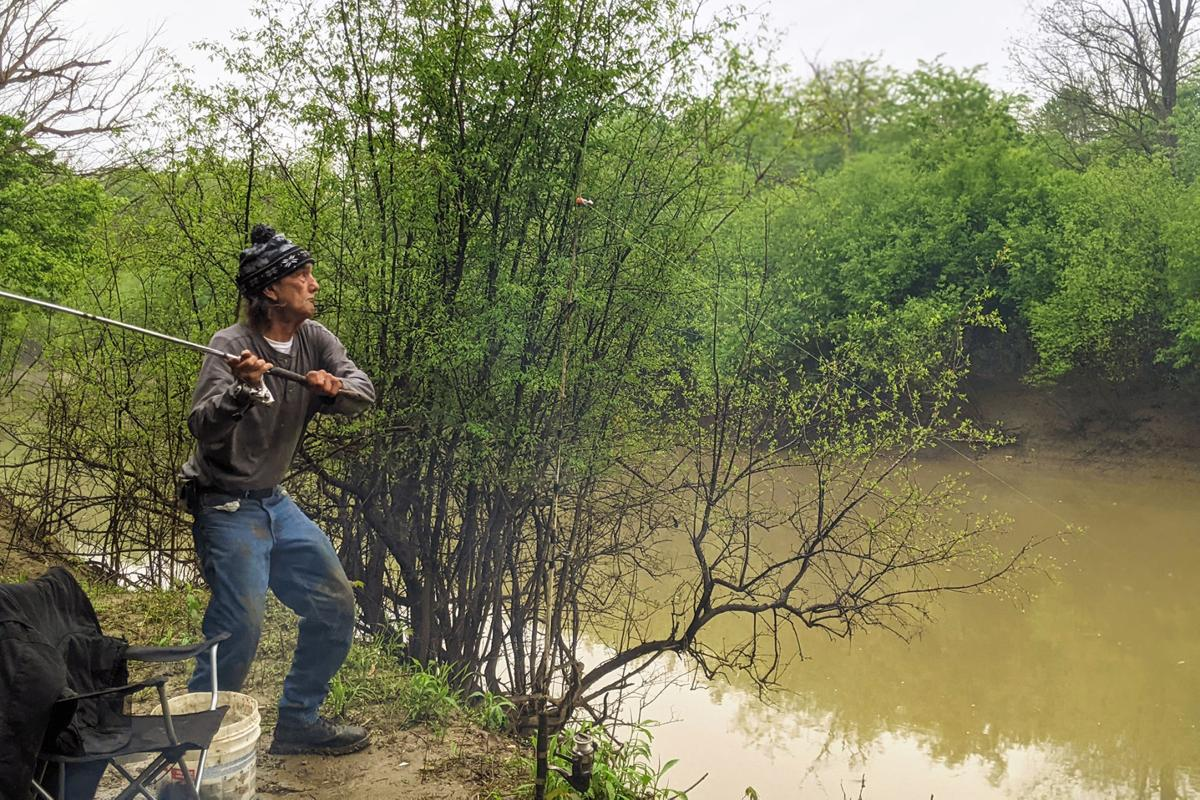 Dwight Violette finds a quiet life by the river — after spending 20 years in prison