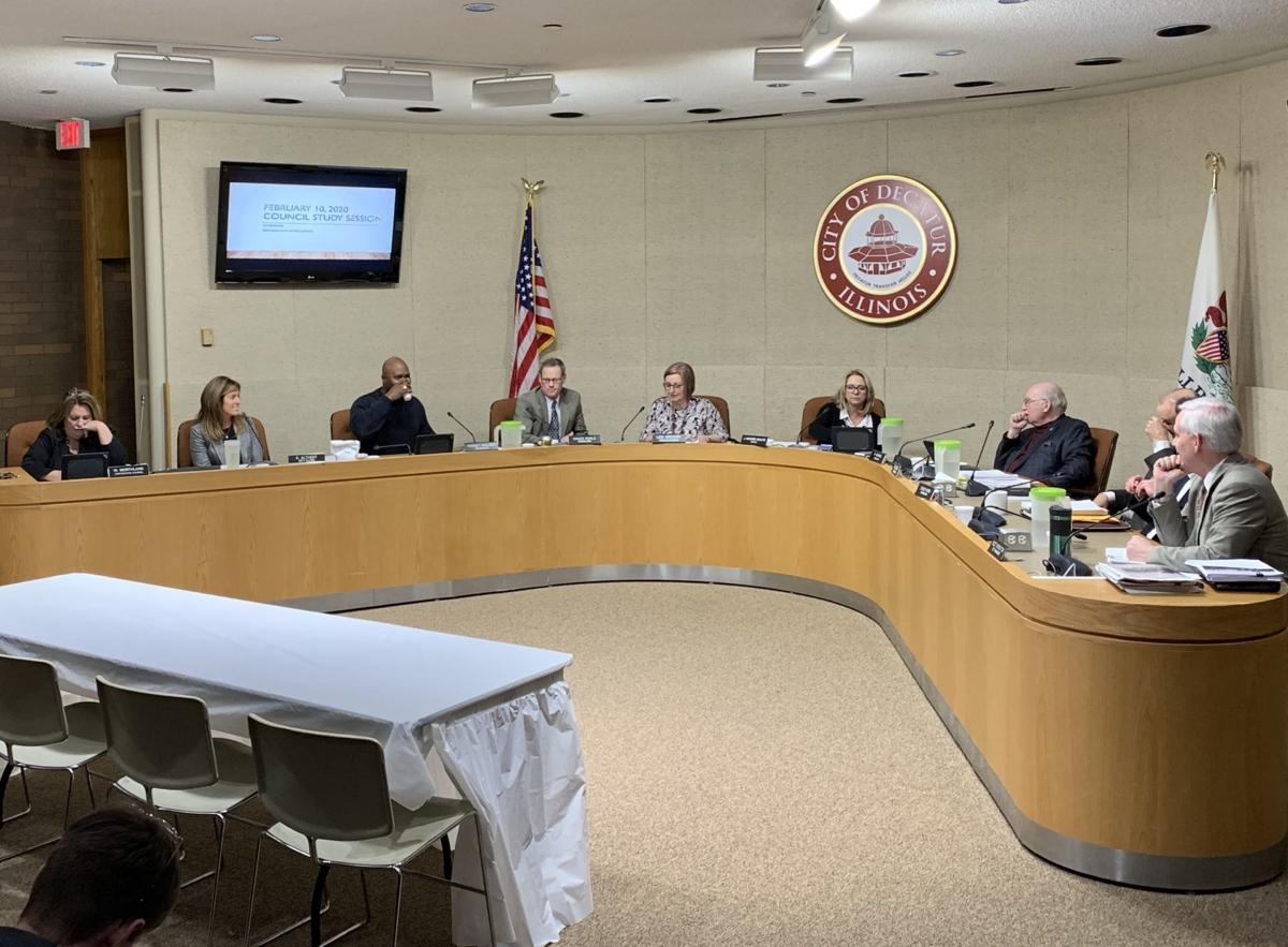 Decatur City Council Study Session February 10, 2020