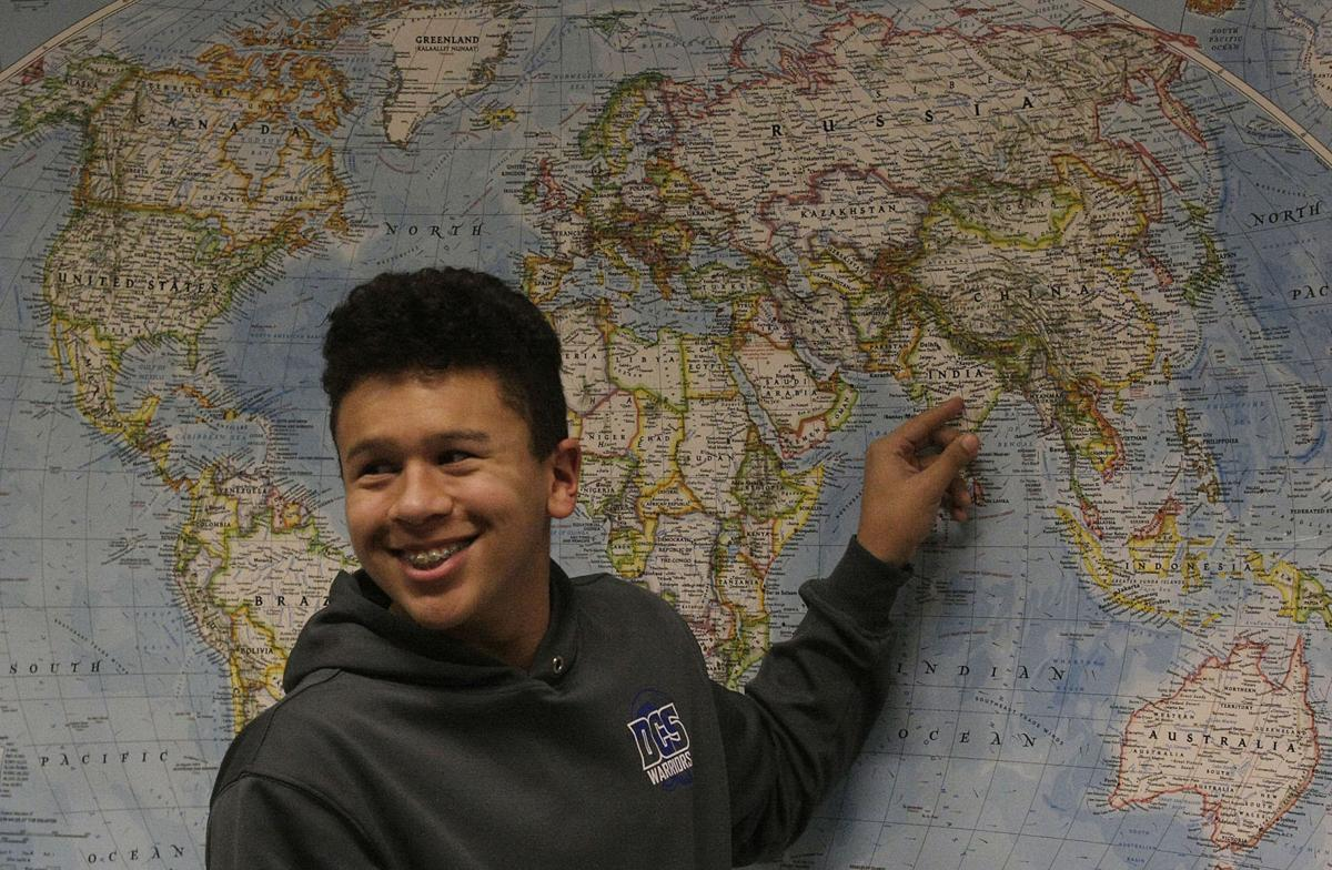 Decatur Christian students take geography lessons to heart with