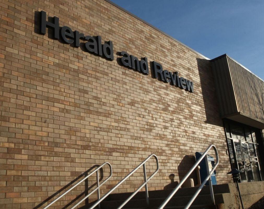 Herald & Review newsroom