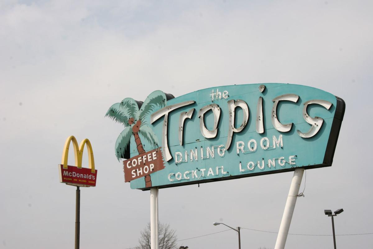 Tropics sign