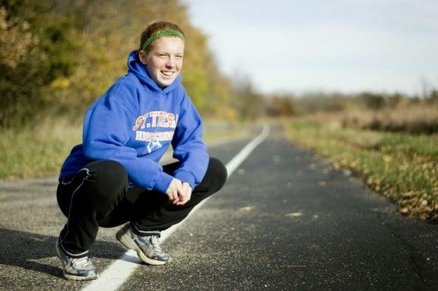St. Teresa runner Ivy Handley
