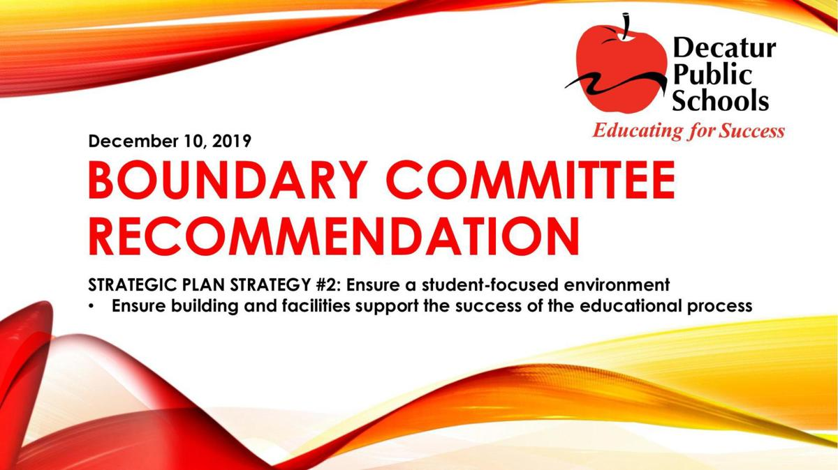 Boundary Committee Recommendation