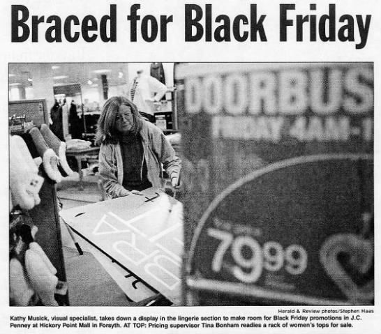 Black Friday Brings Central Illinoisans Out For Tradition As Well As Deals Local Herald Review Com