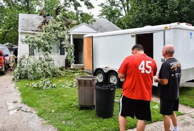 Coles County thunderstorm damage