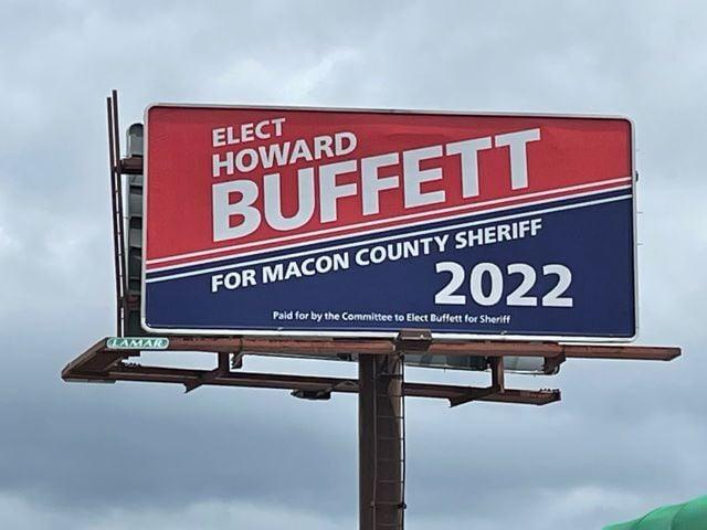 Buffett billboard