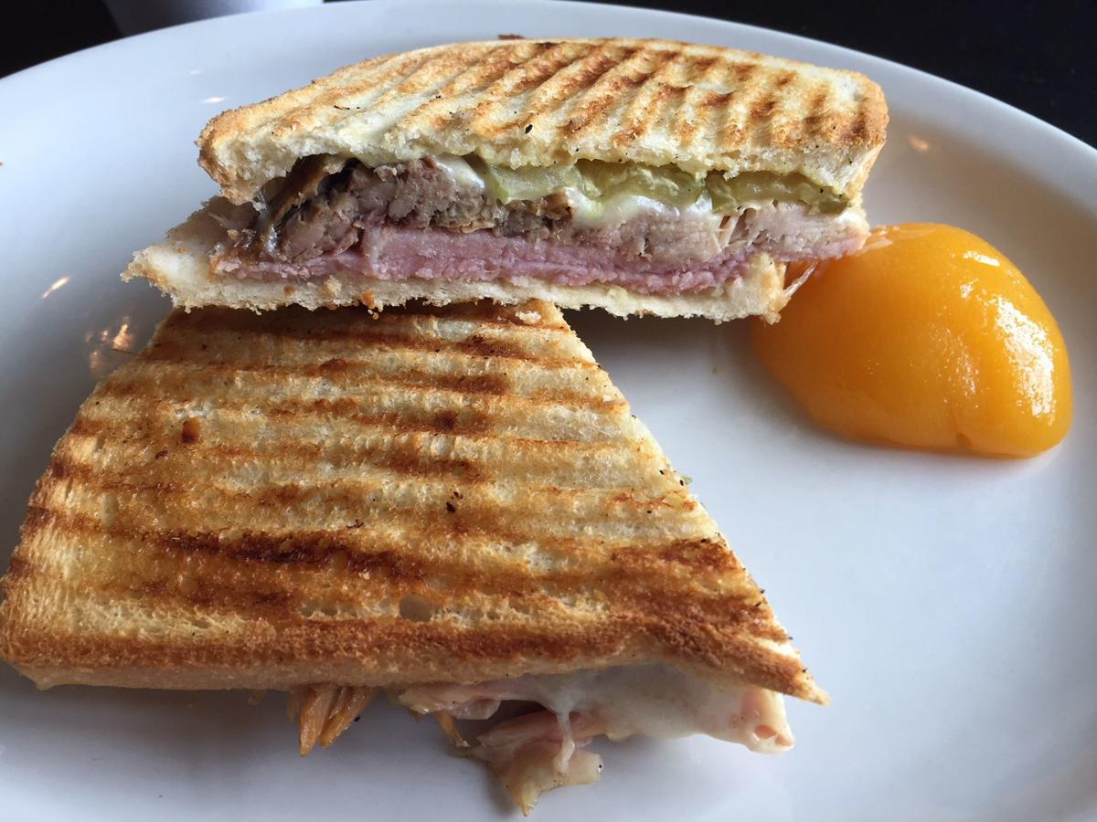 The Cuban sandwich at Robbie's Outlet