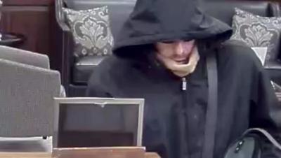 f52409e6b30 Authorities say Stephen Bolf of Aurora robbed the Lisle Savings Bank on  Dec. 29. Courtesy of FBI