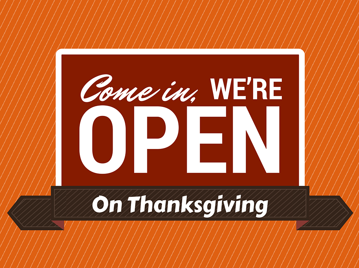Which Restaurants Are Open On Thanksgiving Day