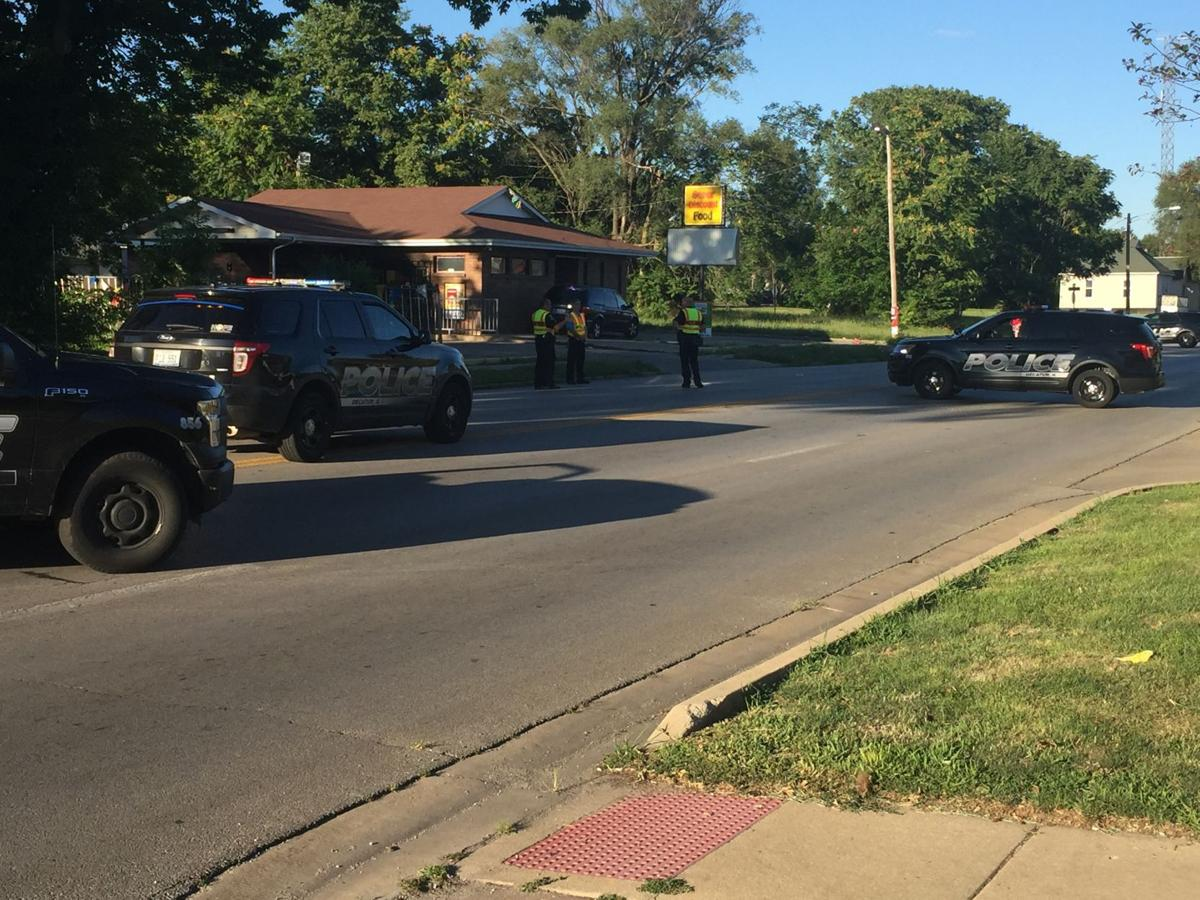 The Scene At Kingston After A Boy Was Killed Being Hit By Car
