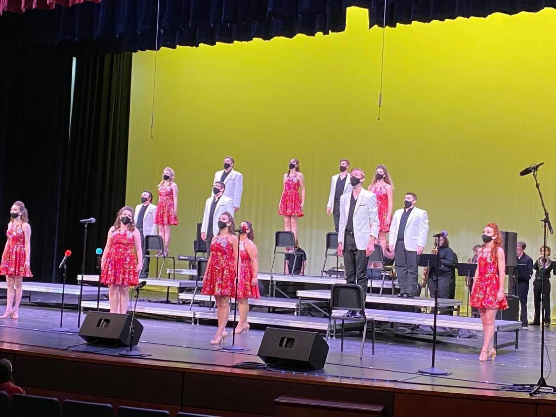 Center Stage performing at Mt. Zion 2021 competition