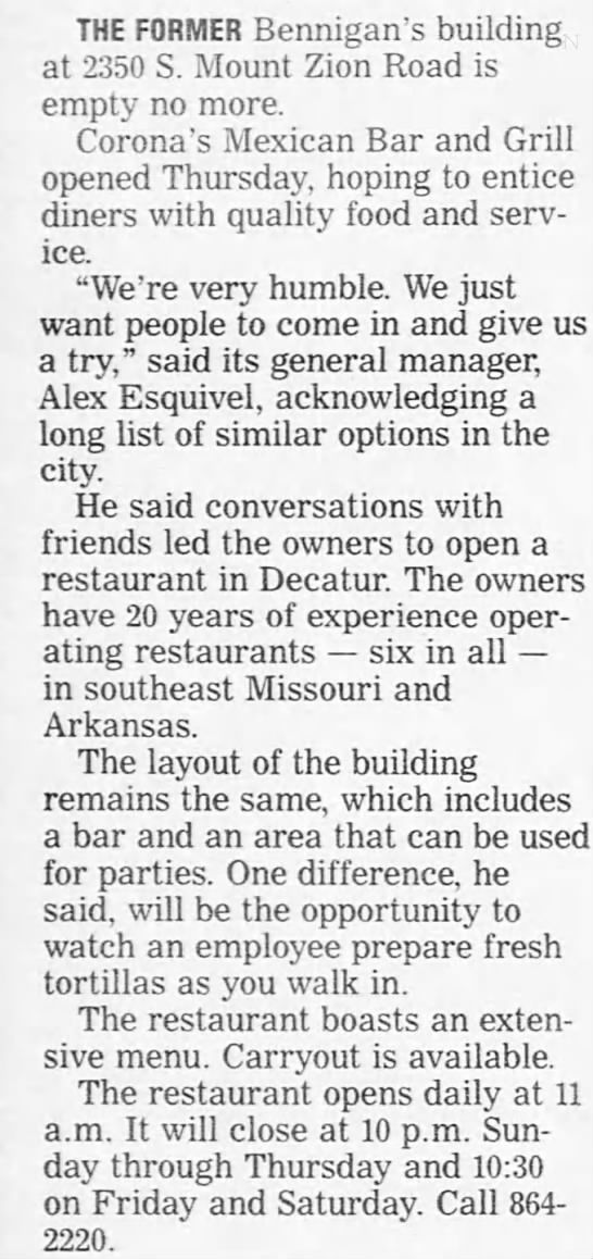 Herald & Review November 2010