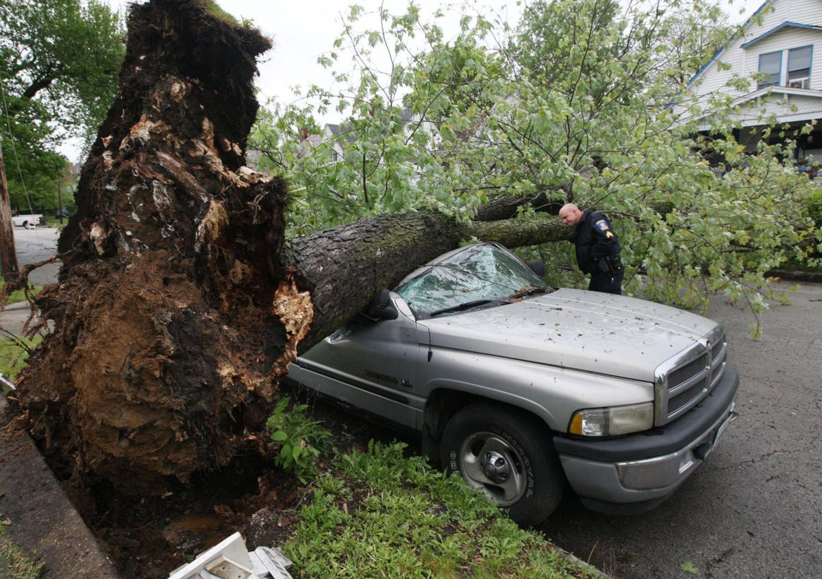 Central Illinois rainfalls create challenges, bring flood warning