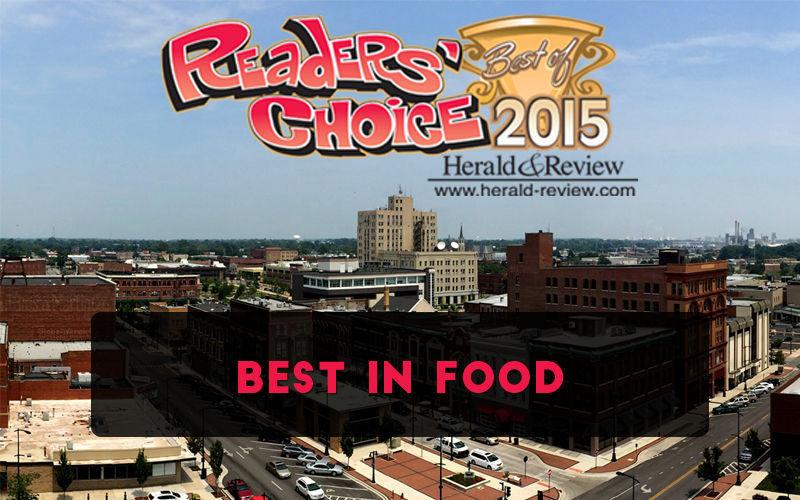 Readers' Choice 2015 - Best in Food