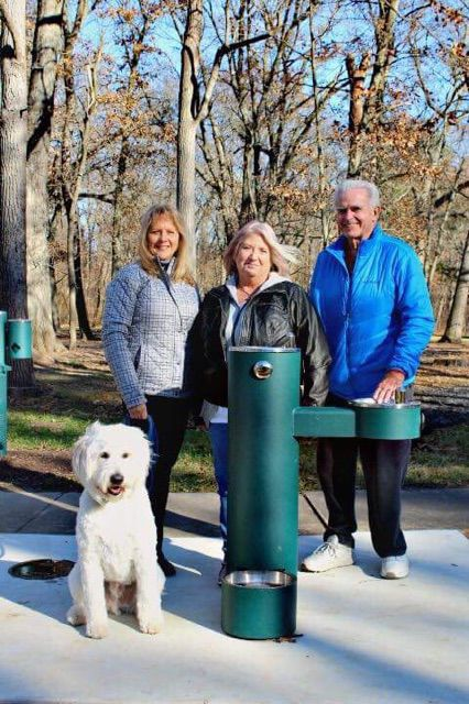 Allerton Park dog fountain