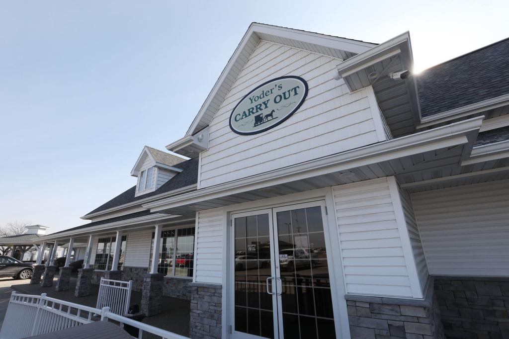 Family-owned Yoder's Kitchen in Arthur