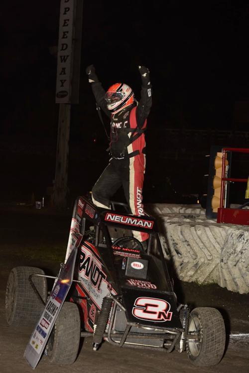 Jake Neuman midget racing