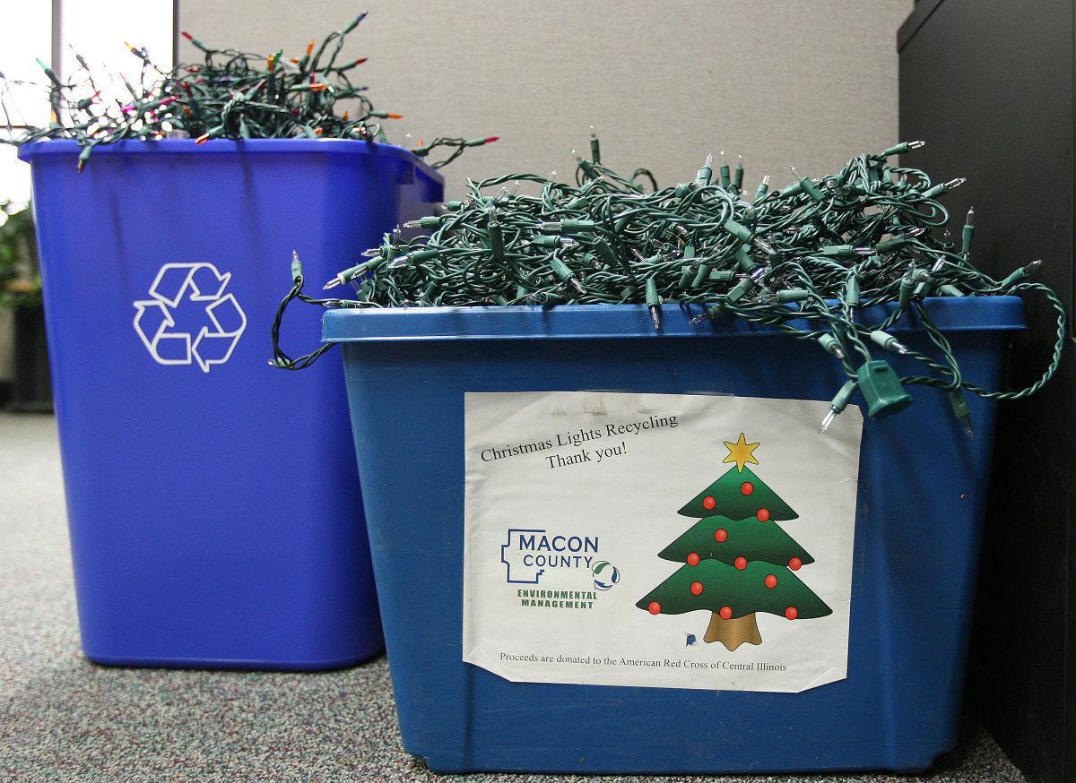 Old Christmas lights shine for recycling program | News ...