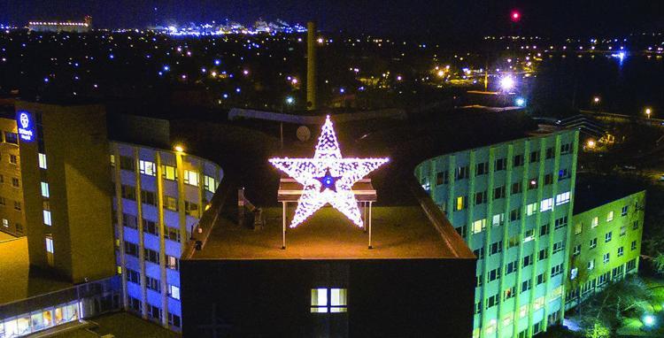 St. Mary's Christmas Star