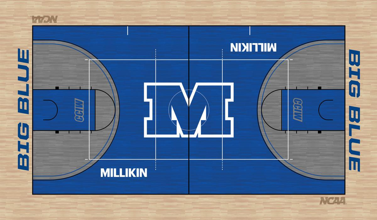Millikin Griswold Center gym