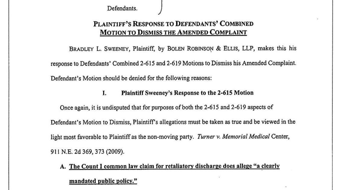 Plaintiff S Response To Defendants Combined Motion To