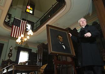 Clinton play marks event after Lincoln's death