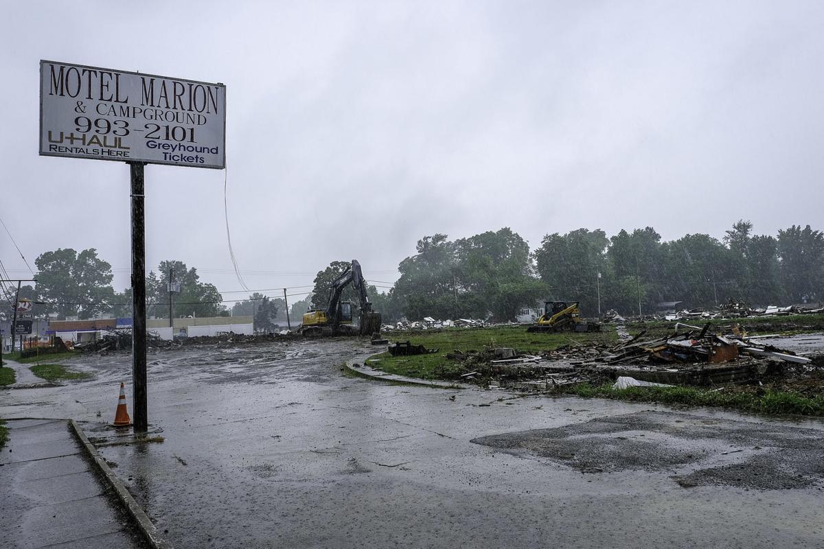 Body found at Motel Marion demolition site