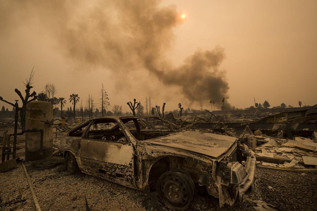 California Wildfires Sacramento Bee